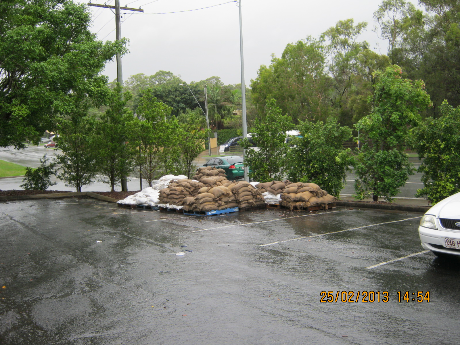 Sand bags - South Street Depot