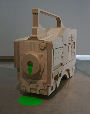 Sam Smith, Video Camera [HDW-F900/3] 2007. Installation view, Artspace, Sydney. Courtesy of the artist. Photo by silversalt photography