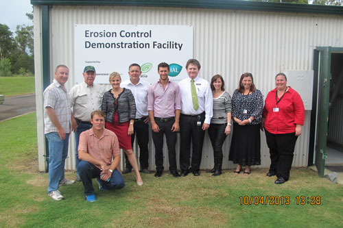 A visit to the national Erosion and Sediment Control Demonstration Facility by Redland City Councillors.