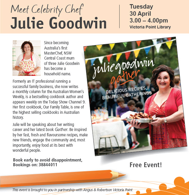 Author in Action: Julie Goowin