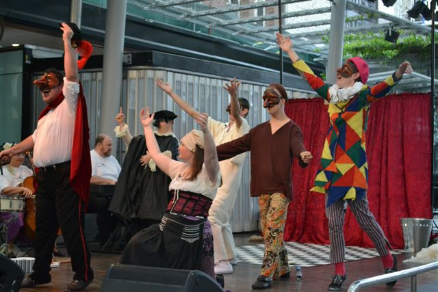 Blue Roo Theatre Company will perform Capitano Performs Again as part of Disability Action Week 2013.