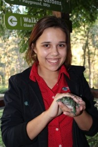 Laura Denmeade, Redland City Council trainee.