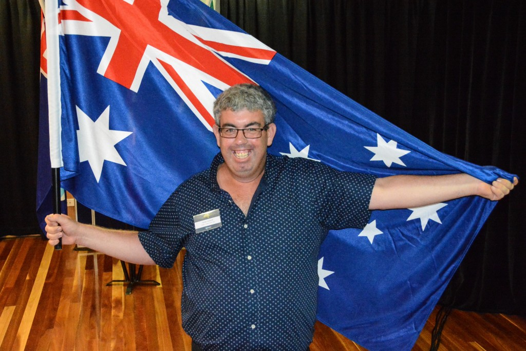 Redland City Citizen of the Year Adrian Addicott