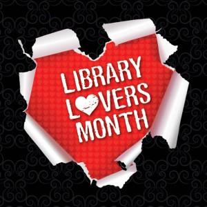 9158 Library Lovers Month graphic