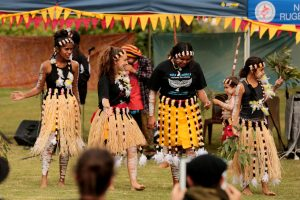 The Yulu Burri Ba traditional dancers