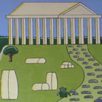 Dwight Ricketts: Ancient Greece will be on show from Saturday 10 September until Saturday 8 October at the Redland Art Gallery, Capalaba, in conjunction with Disability Action Week 2016 (11-17 September). A floor talk and morning tea with the artist will be held on Thursday 15 September at 10.30am.
