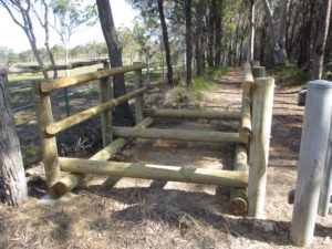 Horse stile at Kidd St