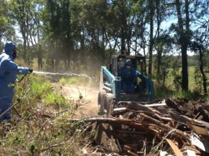 Council officers quickly removed the dumped asbestos