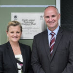 Redland City Mayor Karen Williams and Mr Glenn Butcher MP, Assistant Minister for Local Government and Infrastructure, during the official opening of the new wastewater treatment plant at Point Lookout, North Stradbroke Island.