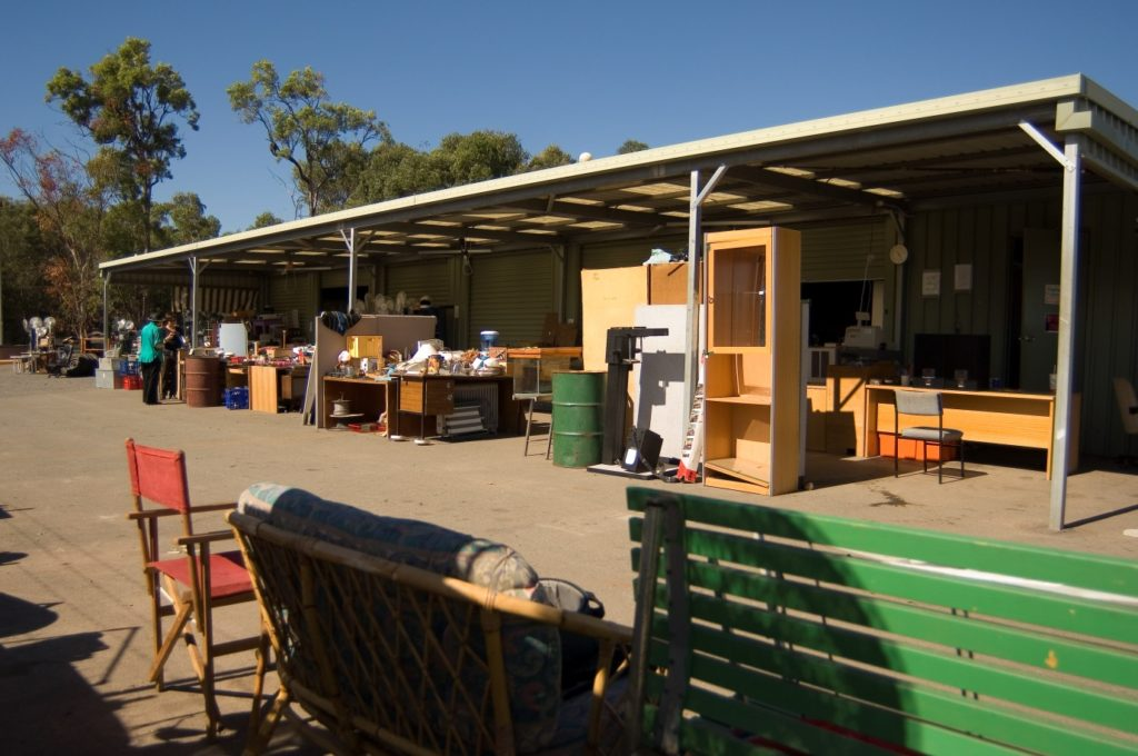 RecycleWorld is located at Redland Bay waste transfer station, German Church Road, Redland Bay