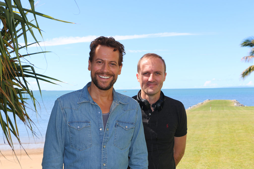 Harrow Actor Ioan Gruffudd and Executive Producer Leigh McGrath