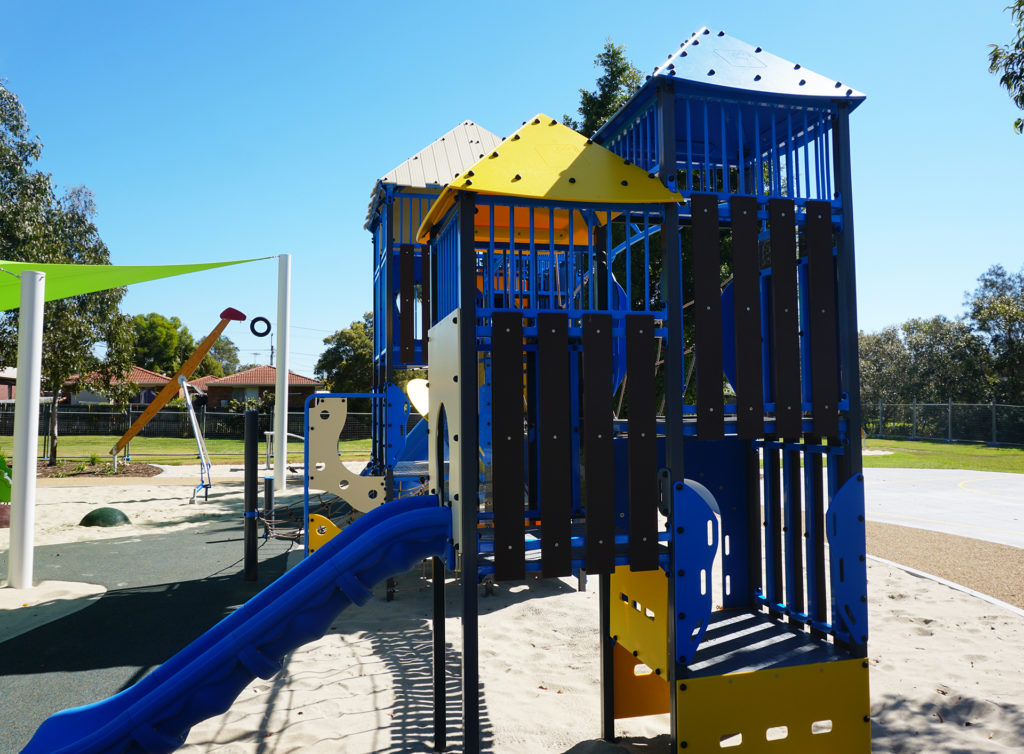New playground at Three Paddocks Park