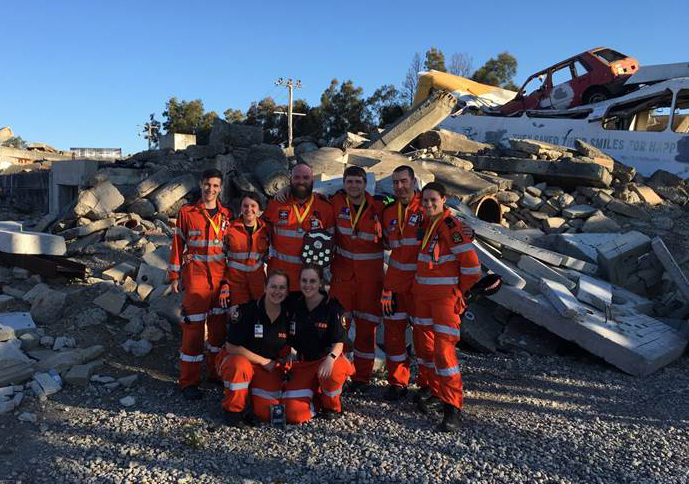 Redland SES Crew at Competition