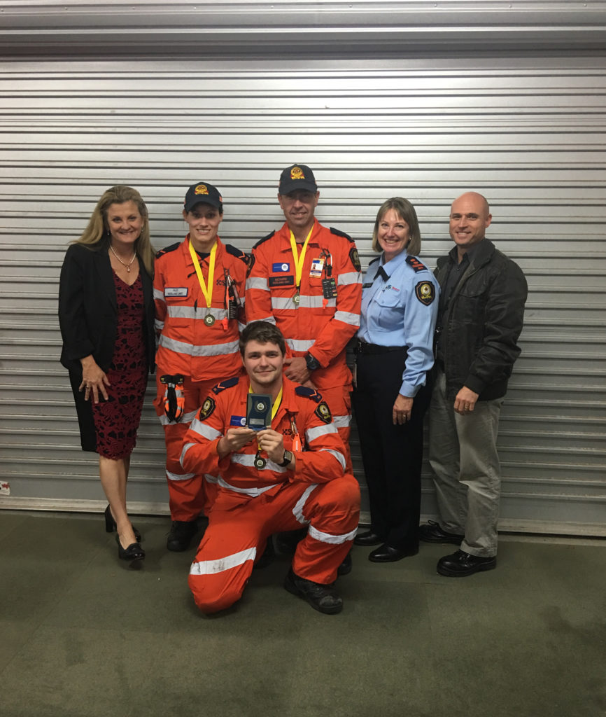 Redlands SES with Mayor Williams