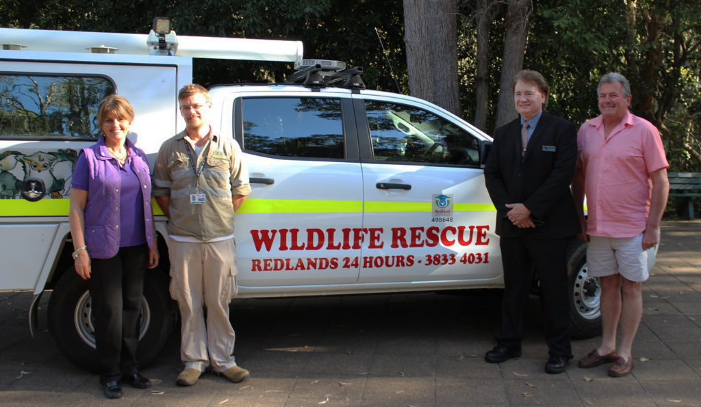 Redlands Wildlife Rescue Ambulance
